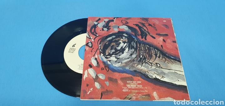 Discos de vinilo: DISCO PROMOCIONAL SINGLE, EXTREMODURO, Estoy muy bien-Los tengo todos - Foto 2 - 195809522