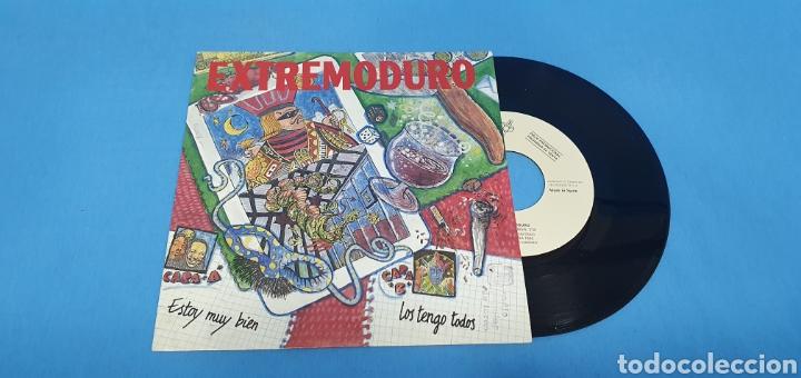 DISCO PROMOCIONAL SINGLE, EXTREMODURO, ESTOY MUY BIEN-LOS TENGO TODOS (Música - Discos - Singles Vinilo - Grupos Españoles de los 90 a la actualidad)