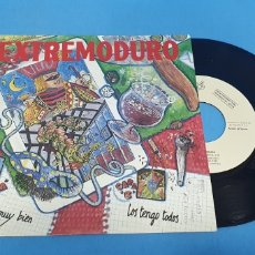Discos de vinilo: DISCO PROMOCIONAL SINGLE, EXTREMODURO, ESTOY MUY BIEN-LOS TENGO TODOS. Lote 195809522