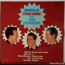 Disques de vinyle: HOMENAJE EYDIE GORME CON TRIO LOS PANCHOS - 1977 . Lote 195813147