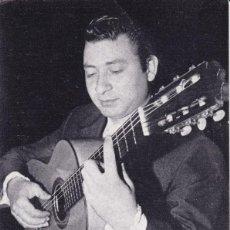 Discos de vinilo: PAPEL TAMAÑO POSTAL GUITARRISTA ANDRÉS BATISTA DE BARCELONA . Lote 195819876