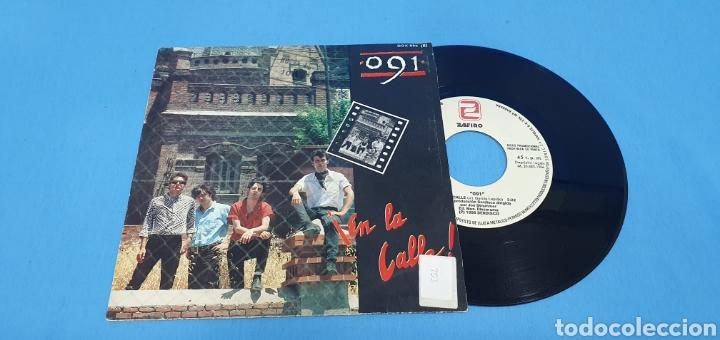 DISCO SINGLE, 091, ¡EN LA CALLE!/BLUES DE MEDIANOCHE (Música - Discos - Singles Vinilo - Grupos Españoles de los 70 y 80)