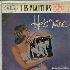 Discos de vinil: THE PLATTERS (SOLO CARATULA). Lote 195821842