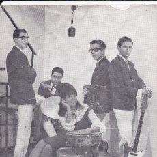 Discos de vinilo: PAPEL TAMAÑO POSTAL DONALS DUCK AÑOS 60 . Lote 195822892