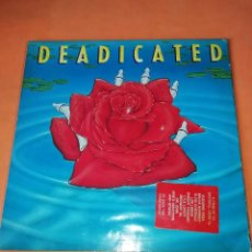Discos de vinilo: DEADICATED. TRIBUTE GRATEFUL DEAD. DOBLE LP. CARPETA ABIERTA . ARISTA RECORDS 1991. Lote 195842442