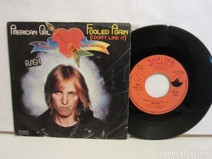 TOM PETTY AND THE HEARTBREAKERS - AMERICAN GIRL - SINGLE - 1977 - SPAIN - VG+/VG (Música - Discos - Singles Vinilo - Pop - Rock - Internacional de los 70)