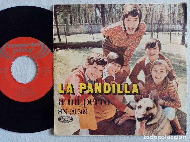 Discos de vinilo: La Pandilla - ¡Oh Mama! / A Mi Perro - SINGLE 1971 - MOVIEPLAY - Foto 2 - 195845746