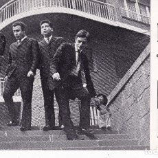 Discos de vinilo: PAPEL TAMAÑO POSTAL DE LONE STAR BARCELONA AÑOS 60. Lote 195821977