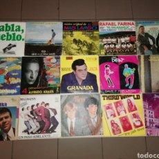 Discos de vinilo: LOTE DE SINGLES. Lote 195850876