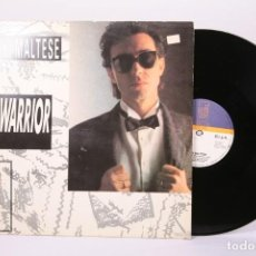 Discos de vinilo: DISCO MAXI SINGLE DE VINILO - RIKI MALTESE / WARRIOR - DISCOS GAMES - AÑO 1986. Lote 195867907