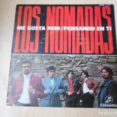 Discos de vinil: NOMADAS, LOS, SG, ME GUSTA REIR + 1, AÑO 1970. Lote 195868710