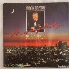 Discos de vinilo: LP / FRANK SINATRAWITH QUINCY JONES L.A. IS MY LADYALEMANIA 1984. Lote 195876505
