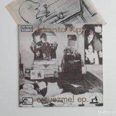 Discos de vinilo: MANTA RAY - ESCUEZME! EP (SUBTERFUGE, 1994) PRIMERA REFERENCIA DE ESTA BANDA MÍTICA. INCLUYE INSERT. Lote 195878021