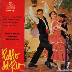 Discos de vinilo: PABLO DEL RIO- GOLONDRINA MENSAJERA + 3- EP SPAIN 1958. Lote 195879243