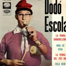 Discos de vinilo: DODO ESCOLA - LA YENKA SABADELLENCA + 3 - EP SPAIN 1965. Lote 195879657