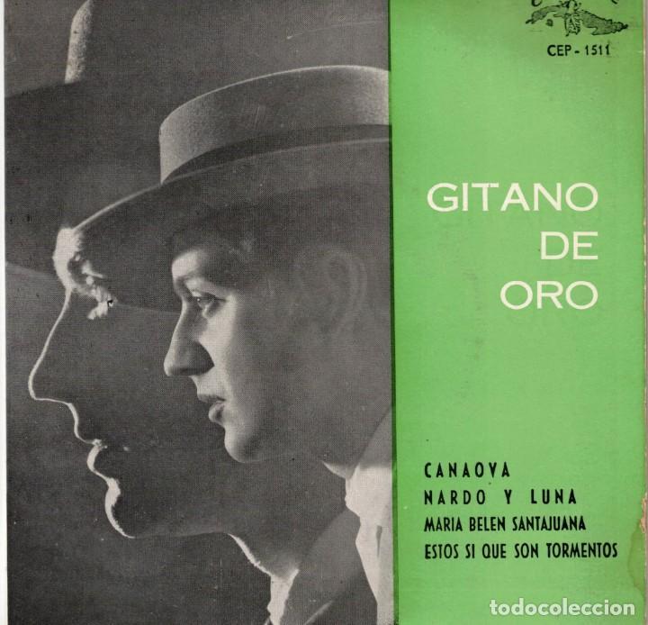 GITANO DE ORO - CANAOYA + 3 - EP SPAIN 1963 (Música - Discos de Vinilo - EPs - Flamenco, Canción española y Cuplé)