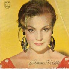 Discos de vinilo: CARMEN SEVILLA - GITANA YE YE - SG SPAIN . Lote 195882740