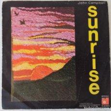 Disques de vinyle: JOHN CAMPBELL - SUNRISE BASF - 1974 . Lote 195882918