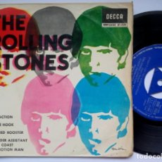 Dischi in vinile: THE ROLLING STONES - SATISFACTION - EP 1965 - DECCA. Lote 195884437