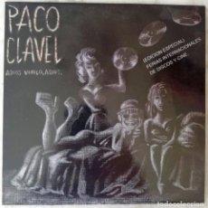 Discos de vinilo: PACO CLAVEL.CONTRABANDO Y TRAICIÓN.CON ALASKA EN RASKA-YU. EP EDICIOÓN ESPECIAL FERIAS. Lote 195884947