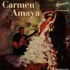 Discos de vinilo: CARMEN AMAYA - SEVILLANAS - EP SPAIN 1961. Lote 195885437