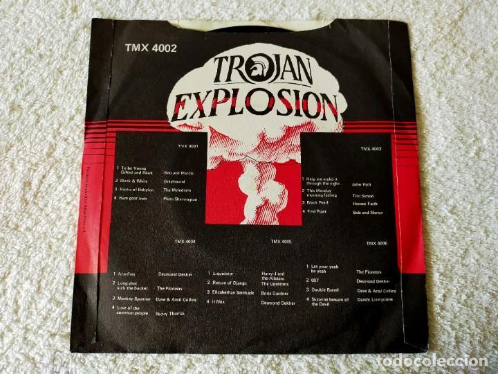 Discos de vinilo: TROJAN EXPLOSION: KEN BOOTHE / DESMOND DEKKER / FREDDIE NOTES AND THE RUDIES - EP MAXI TROJAN SERIES - Foto 3 - 195887188