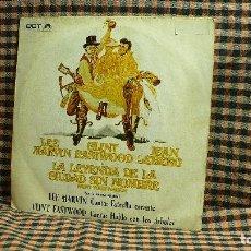 Discos de vinilo: LEE MARVIN / CLINT EASTWOOD – LA LEYENDA DE LA CIUDAD SIN NOMBRE. . Lote 195895607