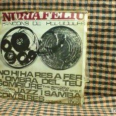 Discos de vinilo: NÚRIA FELIU ?– CANÇONS DE PEL-LÍCULES, EDIGSA ?– CM 144, TEMAS EN DESCRIPCIÓN.. Lote 195897595