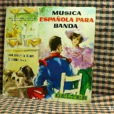 Discos de vinilo: MUSICA ESPAÑOLA PARA BANDA, EL CASERIO / GRAN JOTA DE LA DOLORES, BELTER, 50.976.. Lote 195900818