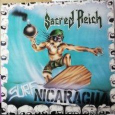 Discos de vinil: DISCO VINILO SACRED REICH-SURF NICARAGUA.. Lote 195913328