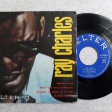Dischi in vinile: RAY CHARLES ,LLUVIA O SOL ETC.. AÑO 1961. Lote 195926650
