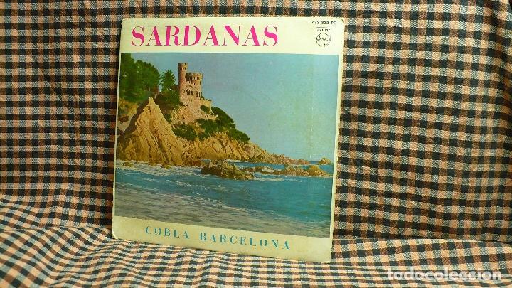 SARDANAS, COBLA BARCELONA, LA SANTA ESPINA, BELL PENEDES, SOTA EL MAS VENTOS, MARIA DE LES TRENES. (Música - Discos de Vinilo - EPs - Solistas Españoles de los 70 a la actualidad)