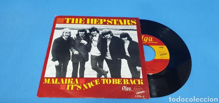 Discos de vinilo: DISCO SINGLE PROMOCIONAL, THE HEP STARS: Malaika/It,s Nice To Be BXk - Foto 2 - 195933377