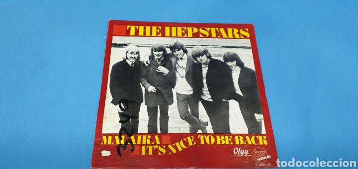 Discos de vinilo: DISCO SINGLE PROMOCIONAL, THE HEP STARS: Malaika/It,s Nice To Be BXk - Foto 3 - 195933377