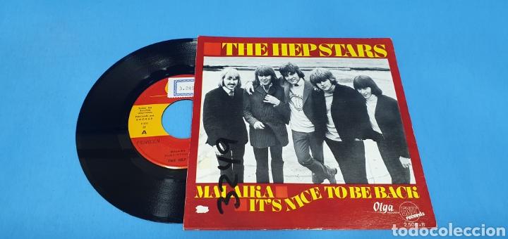 DISCO SINGLE PROMOCIONAL, THE HEP STARS: MALAIKA/IT,S NICE TO BE BXK (Música - Discos - Singles Vinilo - Pop - Rock Internacional de los 50 y 60)