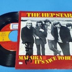 Discos de vinilo: DISCO SINGLE PROMOCIONAL, THE HEP STARS: MALAIKA/IT,S NICE TO BE BXK. Lote 195933377