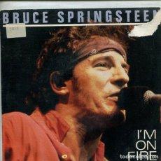 Discos de vinilo: BRUCE SPRINGSTEEN / I'M A FIRE (SINGLE PROMO 1980) SOLO CARA A. Lote 195935270