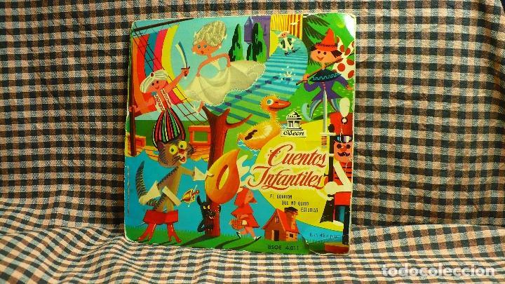 CUENTOS INFANTILES EL GORRION QUE NO QUISO ESTUDIAR, ODEON , BSOE, 4.011, (Música - Discos de Vinilo - EPs - Solistas Españoles de los 70 a la actualidad)