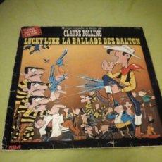 Discos de vinilo: CLAUDE BOLLING – LUCKY LUKE LA BALLADE DES DALTON,1978. Lote 195938541