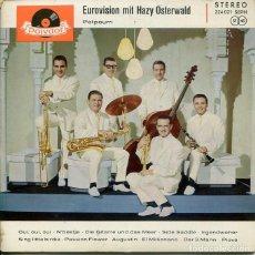 Discos de vinilo: HAZY OSTERWALD (EUROVISION) / POTPOURRI (EP ALEMAN). Lote 195938550