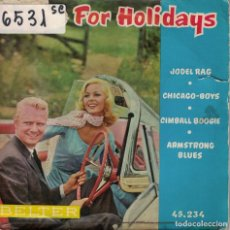 Disques de vinyle: WILLY BEST - JODEL RAG/CIMBALL BOOGIE/CHICAGO BOYS/ARMSTROMG BLUES (EP ESPAÑOL, BELTER 1959). Lote 195946808