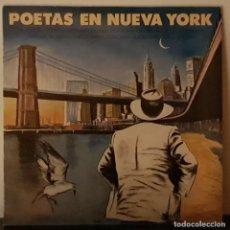Discos de vinilo: POETAS EN NUEVA YORK DE LORCA Y COHEN, LLACH, VICTOR MANUEL, PACO DE LUCIA... CBS 1986. Lote 195947066