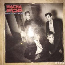 Discos de vinilo: NACHA POP: DIBUJOS ANIMADOS. Lote 195948781