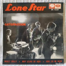Discos de vinilo: LONE STAR - SATISFACCION + 3 - RARO EP PROMO AÑO 1965 CON 2 VERSIONES DE ROLLING STONES EXC. ESTADO. Lote 195949541