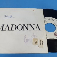 Discos de vinilo: DISCO SINGLE PROMOCIONAL, MADONNA: VOGUE. Lote 195951232