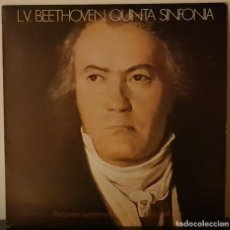 Discos de vinilo: L.V. BEETHOVEN QUINTA SINFONIA - THE LONDON SYMPHONY ORCHESTRA - 1977. Lote 195953806