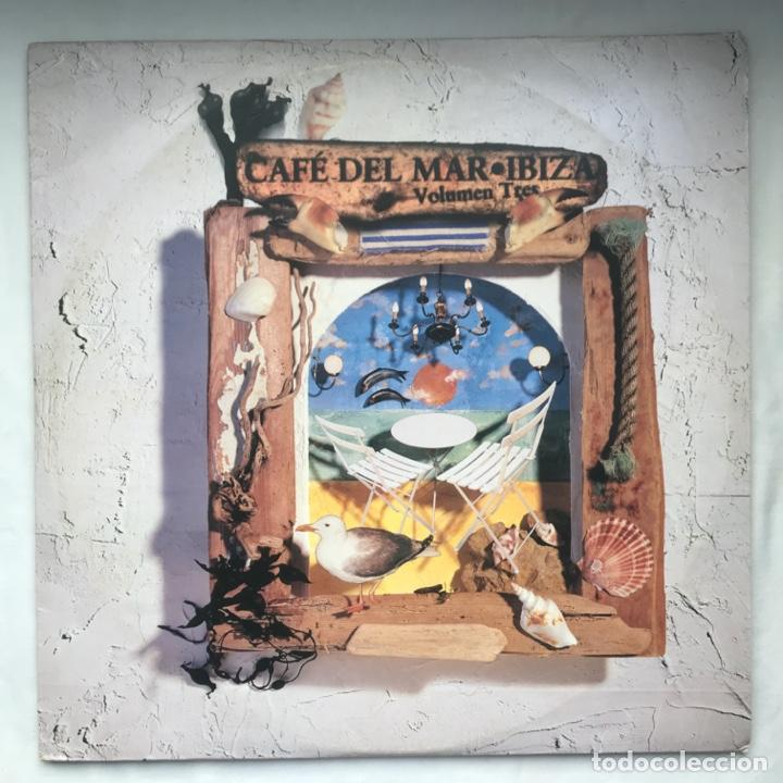 CAFÉ DEL MAR - VOLUMEN TRES 1996, 3LP PAT METHENY, BEAT FOUNDATION, MINISTER OF NOIZE, HEAVYSHIFT (Música - Discos - LP Vinilo - Electrónica, Avantgarde y Experimental)