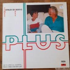 Discos de vinilo: ASTRUD GILBERTO JAMES LAST. PLUS. POLYDOR 823 123-1. ESPAÑA 1986. FUNDA EX. DISCO EX. Lote 195968877