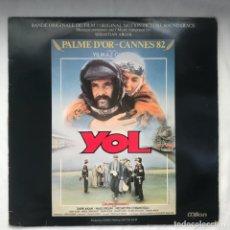Discos de vinilo: SEBASTIAN ARGOL YOL (ORIGINAL MOTION PICTURE SOUNDTRACK). Lote 195973232