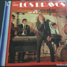 Discos de vinilo: LOS BRAVOS - LO MEJOR . Lote 195989551